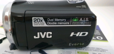 Jvc hd everio gz-hm320 digital video camcorder camera