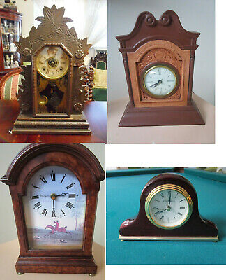 Antique Mantel Clock Howard Miller - William Gilbert-The Sessions- Rutherford