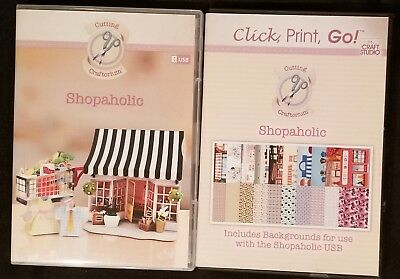 Cutting Craftorium Shopoholic USB and CD ROM ScanNCut,Cameo,Sizzix  (New)