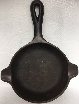 Wagner Ware 1050 Cast Iron Skillet Pan Ashtray, USA Vintage