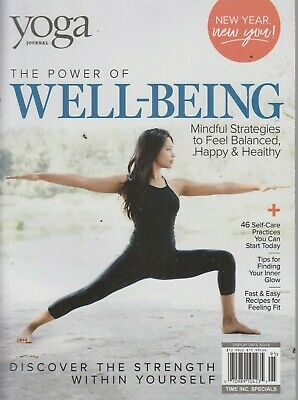 Yoga Journal The Power of Well-Being 2019 Mindful Strategies