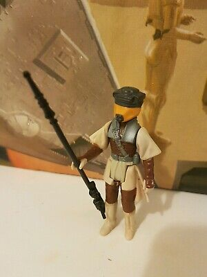 Vintage Star Wars Leia Boushh Complete With Original Weapon Kenner Palitoy