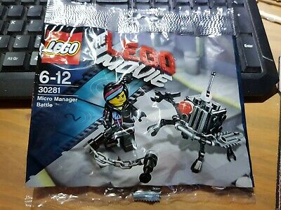 Genuine Lego Movie Micro Manager Brand New Lego Toys Construction Building Toys Toys Games