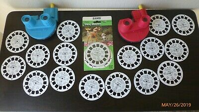 Vintage Walt Disney World And More 20 View Master Reels 3D Viewmasters 2