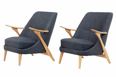 Pair Of Mid 20Th Century Armchairs By Svante Skogh For Seffle Mobelfabrik
