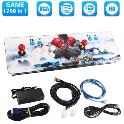 1299 in 1 Games Classic Video Arcade Console Box Pandora Home Double Gamepad
