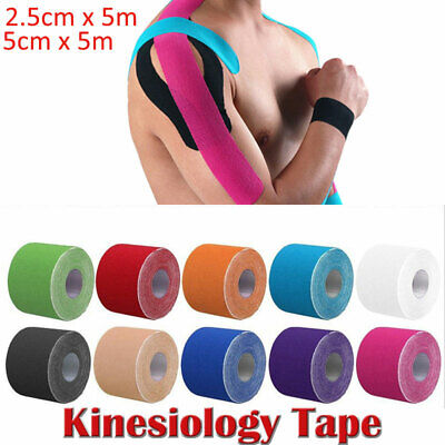 Sports Kinesiology Tape Elastic Physio Muscle Tape PRO Pain Relief Support 5m L