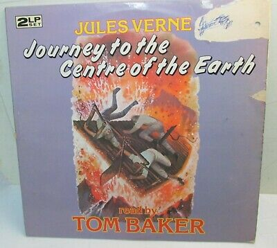 2LP – JOURNEY TO THE CENTRE OF THE EARTH – read by Tom Baker