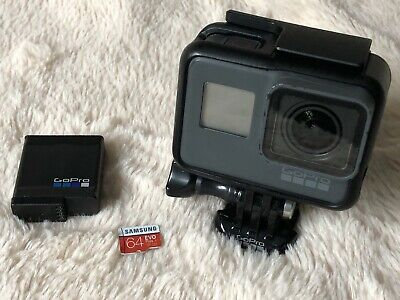 GoPro HERO5 Black Edition 4k Ultra HD Action Camcorder & 64GB U3 SD Card