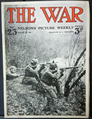 The War No. 23 - January 23, 1915 - Neson's Picture Weekly