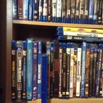 Pick Any Used  3D Movie From List  - $ 7.49....... Free  Mailing
