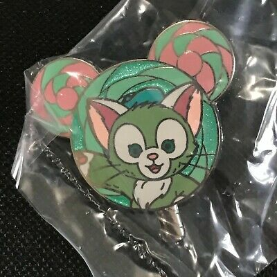 Hong Kong Disney pin - HKDL mystery tin lollipop pin - Gelatoni