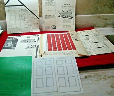 Vintage Craft Pattern by Neely Hall-Cape Cod Doll House Packet