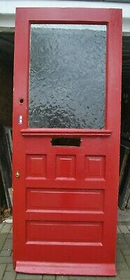 English (potential leaded light stained glass) front door. R928. DELIVERY OPTION
