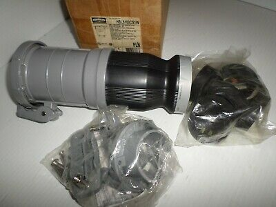 ***NEW IN BOX** HUBBELL HBL5100CS1W 100-Amp Pin&Sleeve CONNECTOR 100A 600V 4P5W