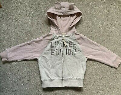 Toddler Girls Next Limited Edition Zipped Hoodie With Ears - Age 1.5-2 Years