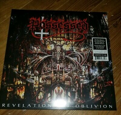 Possessed ‎ Revelations Of Oblivion 2 LP Grey Splatter 300 indie COLORED VINYL