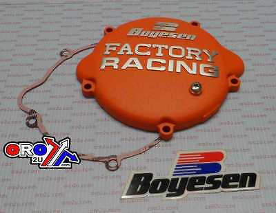 New Orange Boyesen Clutch Cover KTM SX 85 105 06-17 Factory Racing Motocross