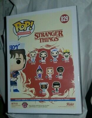 Stranger Things Steve Baskin Robins Exclusive Funko Pop #829