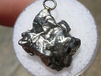 5.54 grams NEW CAMPO DEL CIELO iron METEORITE PENDANT for a necklace about 20mm