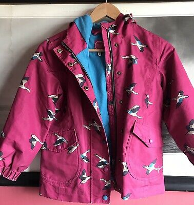 Girls Joules Pink Jacket 8 Years