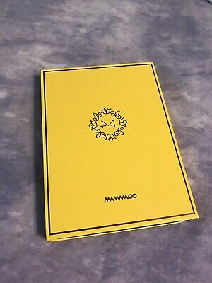 4dbb08e7982b1d MAMAMOO - YELLOW Flower (Ver. A) [OFFICIAL] POSTER *NEW* K-POP ...