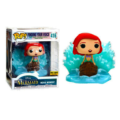 Finding Your Voice Little Mermaid Funko Pop Movie Moment Hot Topic Exclusive