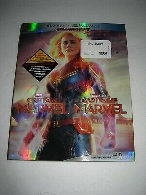 Captain Marvel (Blu Ray slip cover only) No Disc No Blu Ray