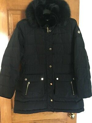 MICHAEL WOMEN KORS Hood Parka Removable Packable Jacket uT3lFK1Jc