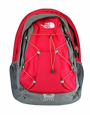 """New Women's Backpack The North Face """"Jester"""" Rose Red Laptop School Book Bag"""