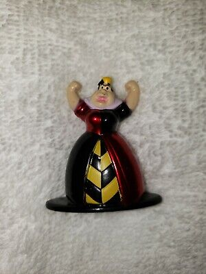 Disney Nano Metalfigs Mini Figure Toy RARE Alice In Wonderland Queen de coeurs