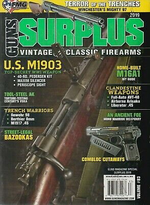 GUNS MAGAZINE SURPLUS vintage and classic firearms volume #82