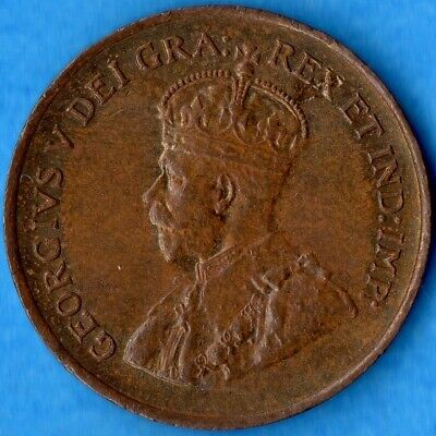 Canada 1932 1 Cent Small Penny Coin - Uncirculated