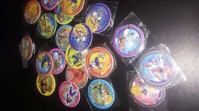 coleccion completa minitaps/minitazos dragon ball z 30/30 chocopunch