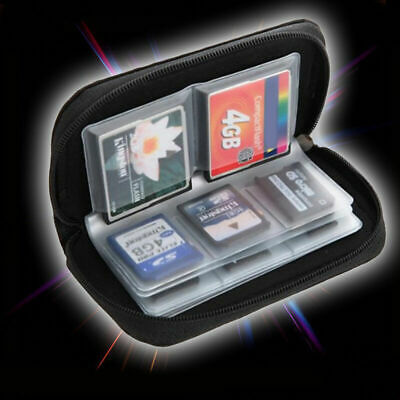 SDHC MMC CF Micro SD Memory Card Storage Carry Pouch Holder Pro HOT# Case W Z4N2