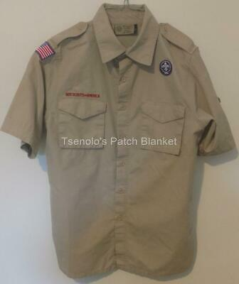 Boy Scout now Scouts BSA Uniform Shirt Size Adult Small SS FREE SHIPPING 071