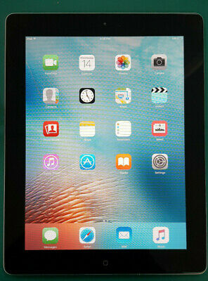 Apple iPad 2 16GB, Black Wi-Fi, 9.7in, with Charging cable and neoprene sleeve.