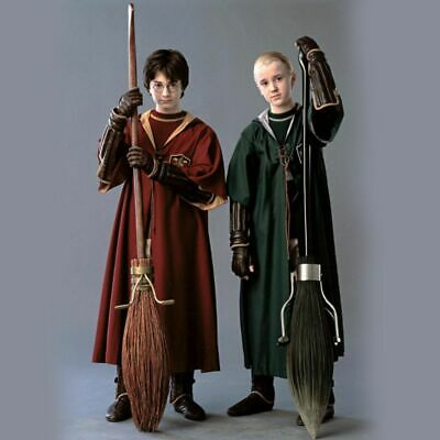 Harry Potter Slytherin Gryffindor Cloak Robe Cosplay Costume Party