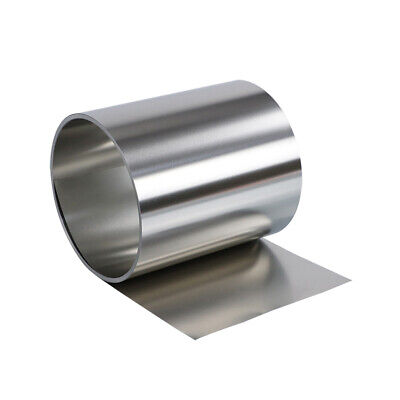 1M 304 Stainless Steel Band SUS304 Sheet Foil Plate Strip Thickness 0.01mm-1mm