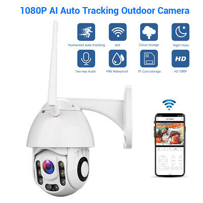 Wireless 1080P WIFI IP Camera Outdoor CCTV HD Home Security IR Night Vision Cam