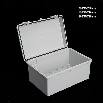 IP65/66 Waterproof Weatherproof Junction Box Plastic Electric Enclosure Case New