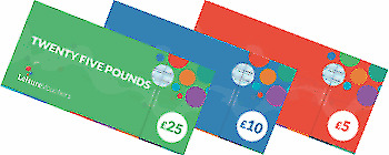 £150 LEISURE VOUCHERS (like Love2Shop) - american golf, halfords etc