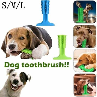Dog Chew Toys Dogs Toothbrush Pet Molar Tooth Cleaner Brushing Stick Doggy Puppy