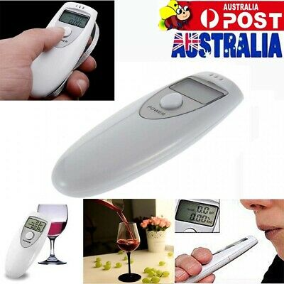 Portable MINI Digital LCD Alcohol Breath Tester Analyzer Driving Breathalyzer AU