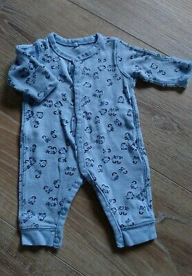 NAME IT Newborn Baby Strampler H/äschen Velours Nitunnet