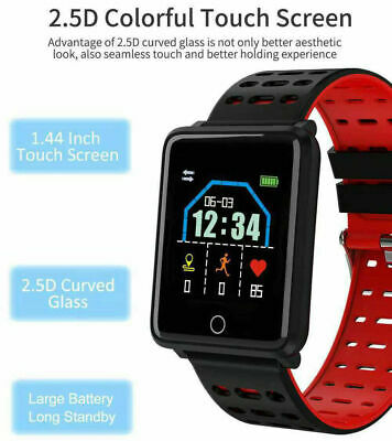 Waterproof Smart Watch Heart Rate Monitor Bracelet Wristband for iOS Android,,