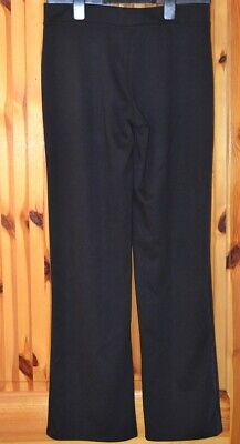 1 PAIR  M&S GIRLS KNITTED BOOTLEG SCHOOL TROUSERS 14 YEARS OLD  (gb1)