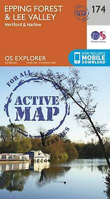 Epping Forest & Lee Valley by Ordnance Survey Free Shipping!