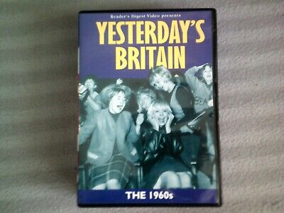 YESTERDAY'S BRITAIN THE 1960s*DVD*DOCUMENTARY*READER'S DIGEST*