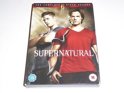 Supernatural - The Complete Sixth Season 6 - GENUINE UK DVD SET - Series Six